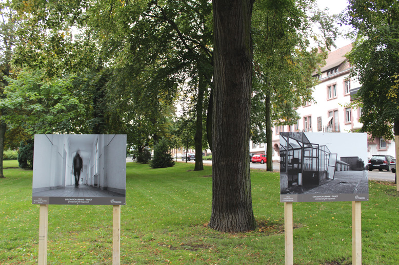 Exposition en plein air - Exploration Urbaine Thurot